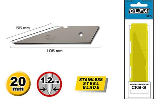 <p>Nožići za CK-2 skalpel.</p>