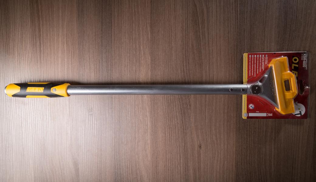 <p>600mm dugački profesionalni heavy-duty strugač za struganje podova, čišćenje zidova, staklenih panela, tapeta itd.</p>