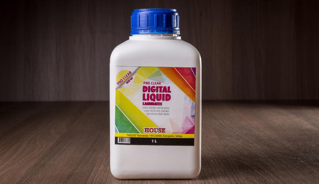 <p>Tečna laminacija za zaštitu i prouduženje veka digitalne štampe sa UV zaštitom i otpornošću na grebanje.</p>