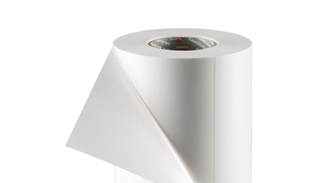 <p>Srednje tvrda duplopljiva penasta traka sa dvostrukim premazom debljine 380 mikrona za nanošenje fotopolimera na štamparske cilindre</p>
