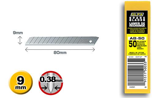 <p>50 standard-duty nožića u plastičnoj kutiji</p>