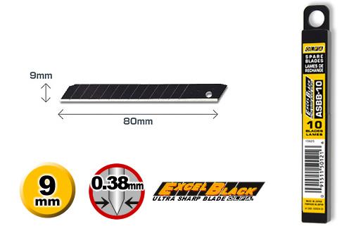<p>Nožići su 9mm širine, 0.38mm debljine, pod uglom od 45 stepeni, sa 12 segmenata koji se mogu ukloniti.</p>