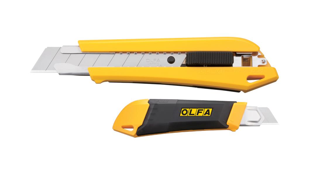 <p>Heavy-Duty skalpel sa ugrađenom pregradom za potrošene nožiće</p>