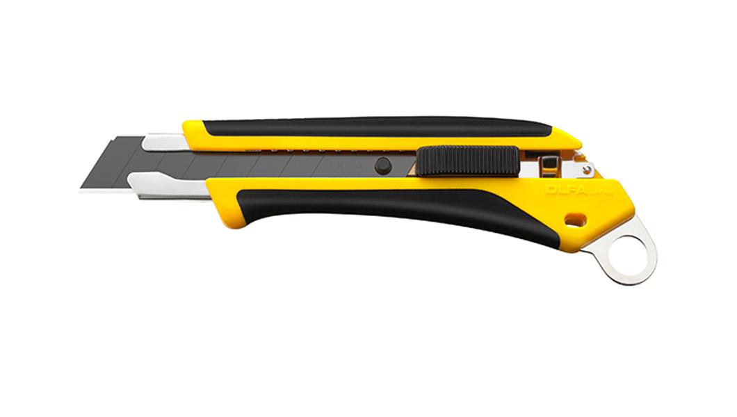 <p>X-dizajn ComfortGrip serija heavy-duty skalpela sa automatskim zaključavanjem i sigurnosnom rupom za trakicu.</p>