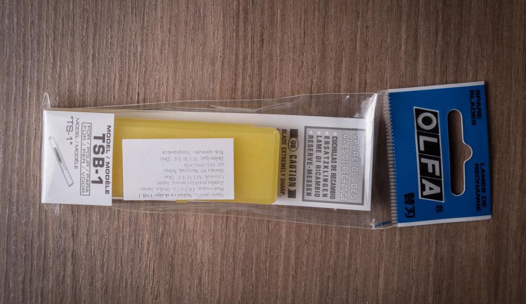 <p>5 rezervnih nožića posebno dizajniranih za OLFA top sheet skalpel TS-1.</p>
