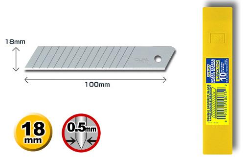 <p>Nožić iz serije LB, širine 18 mm, koji se koristi za sve OLFA skalpele iz serije L</p>