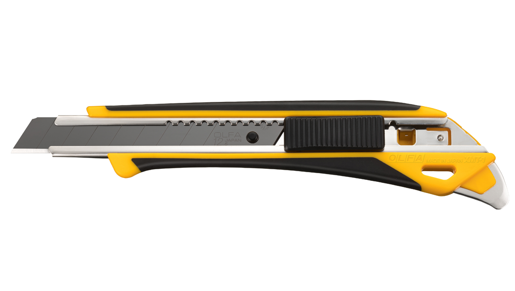 <p>OLFA skalpel iz serije M koji koristi nožiće od 12,5 mm širine.</p>