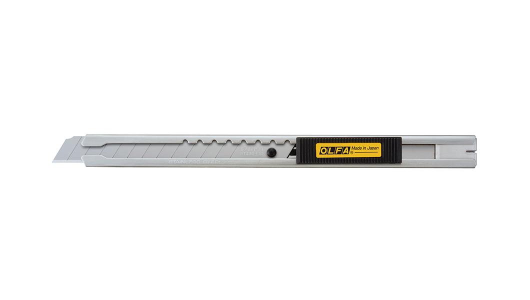 <p>Standardni skalpel iz serije A koji koristi nožiće od 9 mm širine.</p>