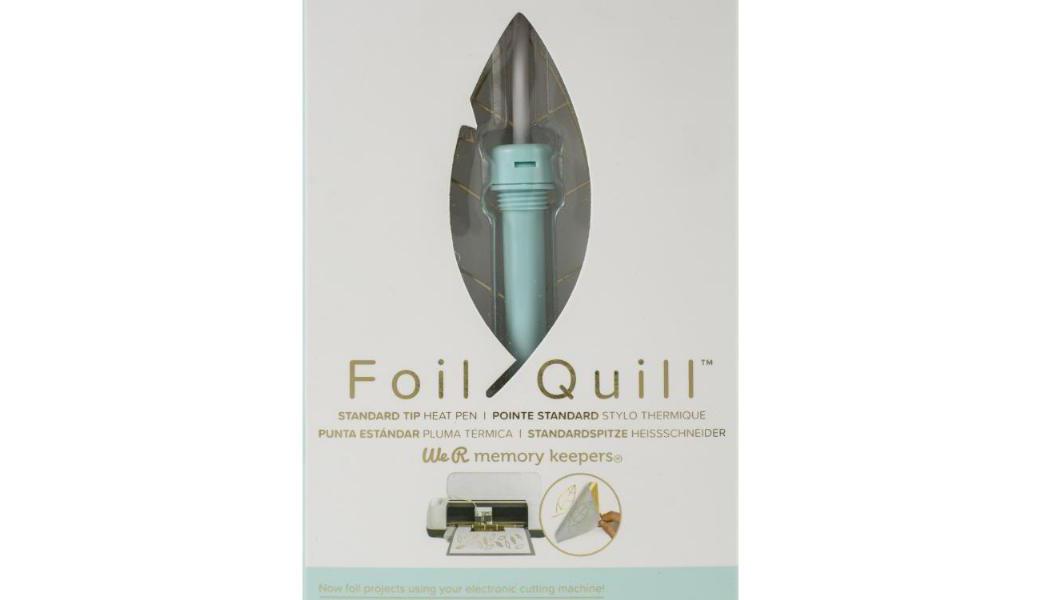 <p>Oplemenite vaše projekte folijama za vrelo pečatiranje i Foil Quill olovkama od We R Memory Keepers.</p>