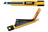 <p>Standard Duty skalpel sa funkcijom automatskog ubacivanja više noževa i automatskim zaključ- avanjem. Za sečenje tapeta, prozorske grafike, umetničkih i zanatskih aplikacija.</p>